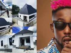 Rapper Erigga shows off his '85% complete' house on Instagram