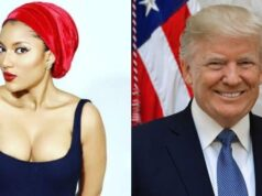 """""""You Are Godsent To The World"""" – BBNaija's Gifty Prays For Donald Trump To Remain On Seat Forever"""
