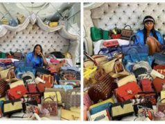 Ajimobi's Daughter, Abisola Kola-Daisi Slammed By Fan For Showing Off Bags