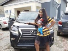 Actress Uche Elendu Acquires Brand New Lexus SUV (Photos)