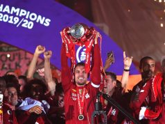 Liverpool Captain, Jordan Henderson Crowned FWA Footballer Of The Year For The 2019/20 Season