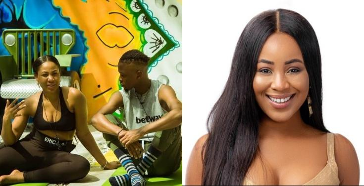 """#BBNaija2020: """"I Want To Go Home, I'm Tired Of This House� – Erica Laments To Laycon"""