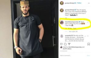 """Never Seen A Yellow Boy This Cute"" – Actress Nkechi Blessing Gushes Over #BBNaija's Ozo"