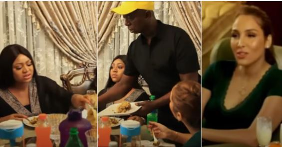 Regina Daniels Enjoys Delicious Moroccan Dish After Visiting Co-Wife, Laila (Video)
