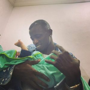 Davido's PA, Aloma DMW welcomes son; names him after the singer
