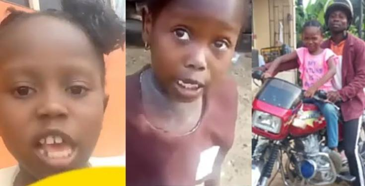 """""""All The Promises Na Fake, My Father Still Dey Drive Okada"""" – Success The School Girl Speaks In New Video"""