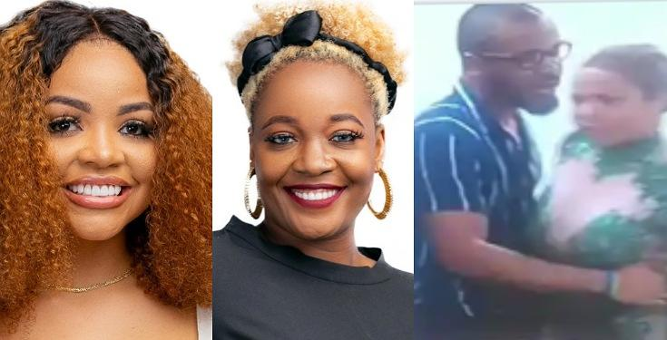 """BBNaija2020: """"Old Woman, Useless Amoeba� – Nengi And Lucy Fight Dirty After Today's Eviction (Video)"""