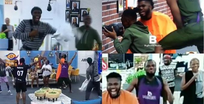 BBNaija2020: Huge Jubilation In The House As Big Brother's Return From Vacation (Video)