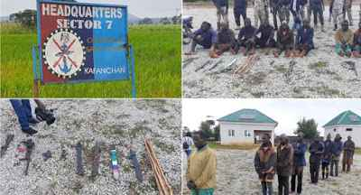 Faces Of Notorious Bandits Invading And Killing Southern Kaduna Villagers (Photos+Video)