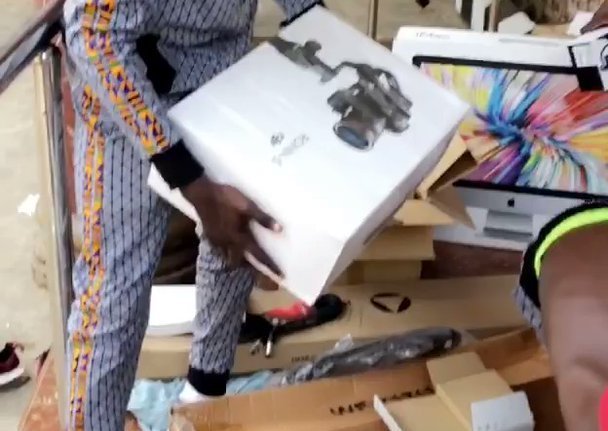 Netflix Surprises Ikorodu Bois With Brand New Movie Making Equipment (Video)