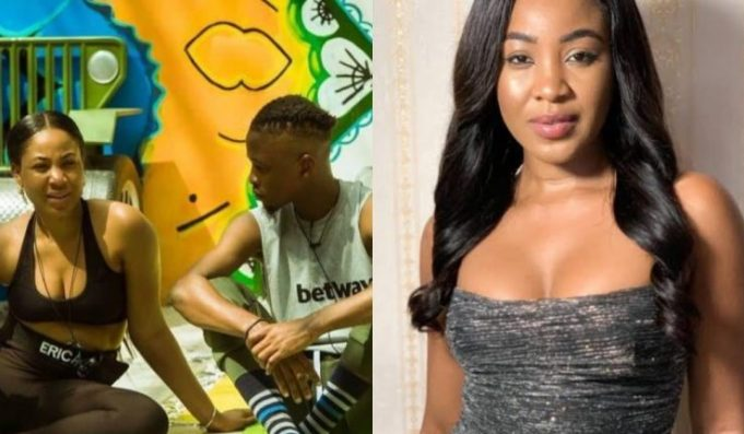 BBNaija2020: What Laycon Told Erica Before She Had S*X With Kiddwaya (Video)