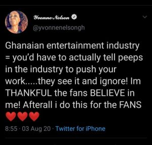 Yvonne Nelson Blasts Ghollywood, Says It's Full Of Hate And Jealousy