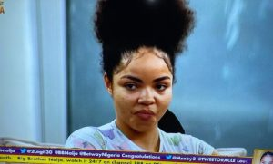 BBNaija2020: Nengi's Sad Reaction After Ozo Picked Dorathy As His Deputy