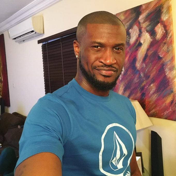 Peter Okoye Spotted Eating Termites, Says It's Delicious (Video)