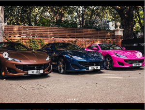 Billionaire Businessman, Femi Otedola Cops Three Ferrari Portofino Whips For His Daughters (Photos)