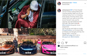 """""""Make Sure You Are Making Money From Trolling People"""" – Peter Okoye Says As He Reacts To Otedola Buying Ferraris For His Daughters"""