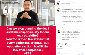 """""""Stop Blaming The Devil And Take Responsibility For Your Stupidity"""" - Daddy Freeze Tells Religious Folks"""