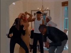 Video Of Billionaire, Femi Otedola Dancing With His Children At Their Home In London
