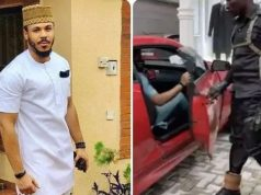 #BBNaija2020: Nigerians Reacts As Police Officer Opens Car Door For Ozo