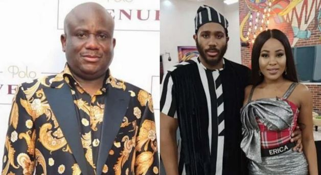 BBNaija2020: How Erica Treated Me After Her Disqualification – Kiddwaya's Father, Terry Waya Reveals