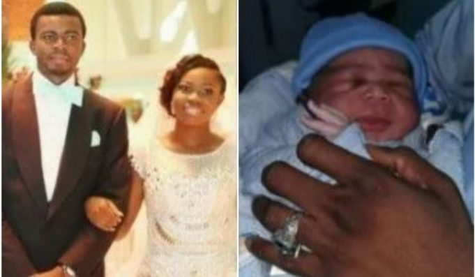 Goodluck Jonathan's Daughter Welcomes New Baby With Husband (Photos)