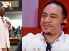 """""""Bald-Headed Fowl"""" – Video Of Daddy Freeze Insulting Bishop Oyedepo Surfaces Online (Video)"""