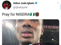 Ighalo The Footballer Says He Is Ashamed Of The Nigerian Government After Lekki Genocide