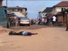 Ondo Election: Shock As Man Gets Stabbed At Polling Unit In Akure (Photo)