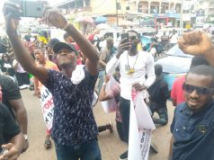 #End SARS Protesters Shuts Down Awka, Demand Prosecution Of Ex-SARS Boss, James Nwafor