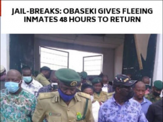 Edo Governor, Obaseki Tell Prisoners Wey Don Run Say Make Dem Return Odawise Trouble Go Dey.