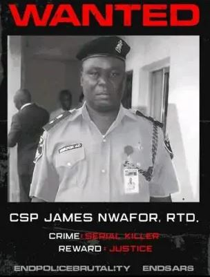 Notorious Ex Police Officer, James Nwafor Reportedly Apprehended In Ghana