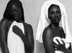 Tiwa Savage Goes Half-Nud3 In New Photos
