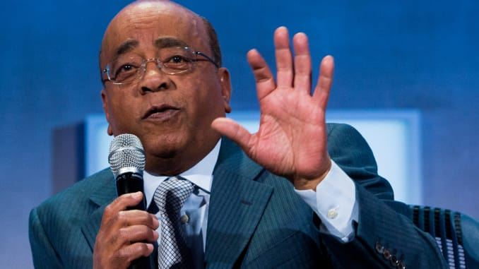 Mo Ibrahim The Billionaire, Condemns FG's Crackdown On EndSARS Protesters