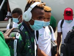 Super Eagles Touch down in Freetown For Redemption Match Against Sierra Leone (Photos)