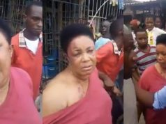Lady Allegedly Returns Manhood She Stole In Aba After Serious Beating (Video)